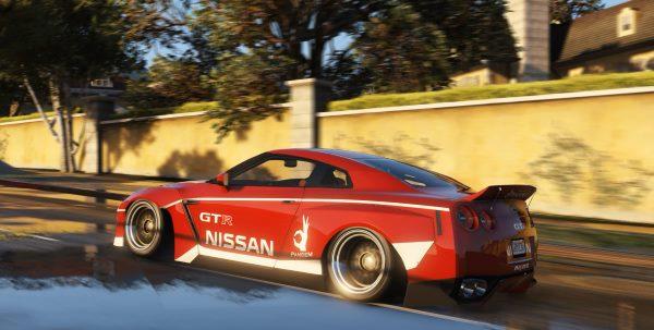 2010 Nissan GT-R Spec-V Pandem Rocket Bunny 2.0 для GTA 5