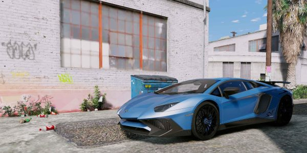 Lamborghini Aventador LP750-4 SuperVeloce [Add-On | Analog / Digital Dials] 0.1 для GTA 5