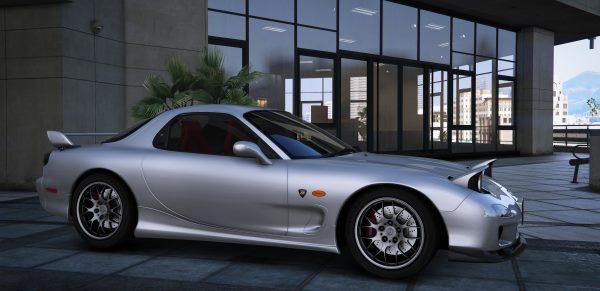 2002 Mazda RX-7 Spirit R Type A Series III (FD3S) для GTA 5