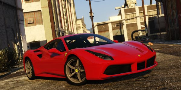 2016 Ferrari 488 GTB [Add-On | Tuning] 1.1.2 для GTA 5