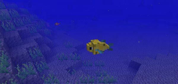 Just a Few Fish для Майнкрафт 1.10.2