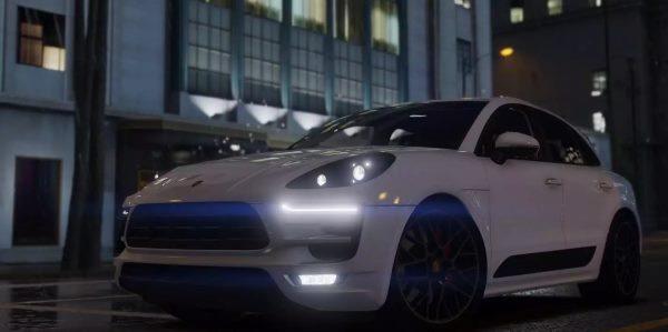 2017 Porsche Macan GTS для GTA 5