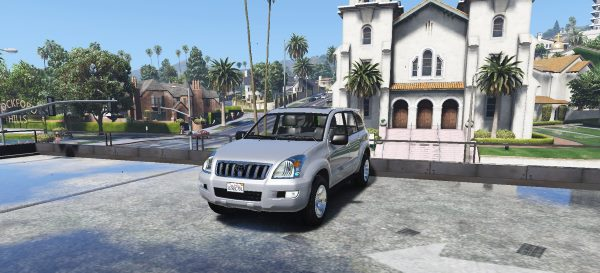 Toyota Land Cruiser Prado[Replace/Addon] для GTA 5