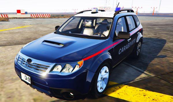 Subaru Forester Carabinieri 2.0 для GTA 5