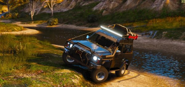 Nissan Patrol Y60 Off Road 1994 [Add-On / Replace | 7 Extras] 1.4 для GTA 5