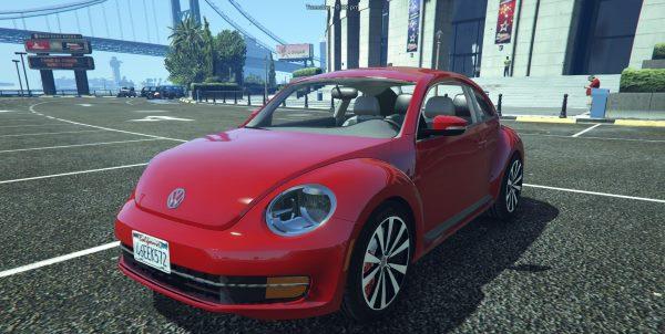 Volkswagen Beetle 2013 [Add-On / Replace] для GTA 5