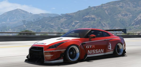2010 Nissan GT-R Spec-V Pandem [Add-On / Replace | RHD] 2.2 для GTA 5