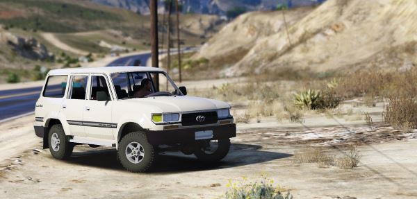 Toyota Land Cruiser Autana 1997 [Replace | Extras] для GTA 5