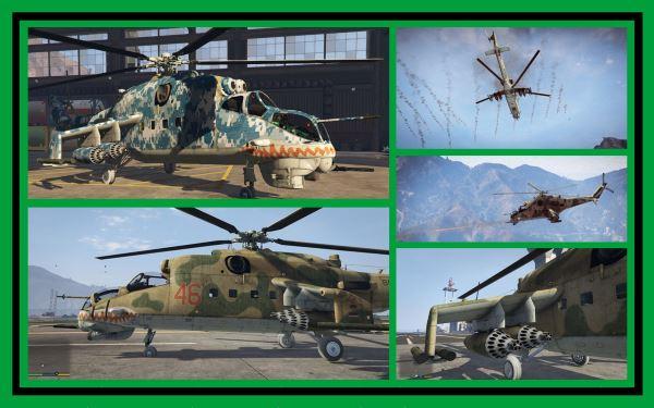 Mil Mi-24 Hind [Add-On] 2.1 для GTA 5