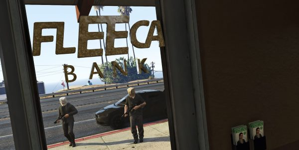 Fleeca Bank Robbery 1.4 для GTA 5