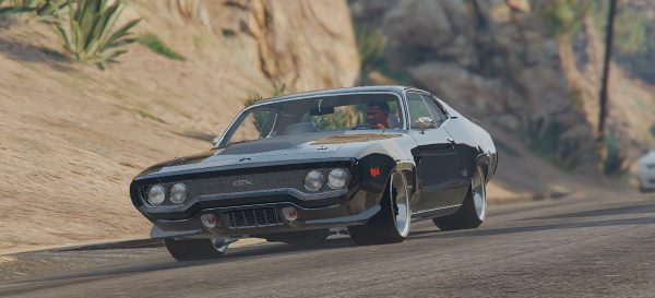 The Fate of the Furious Plymouth GTX 1.1 для GTA 5