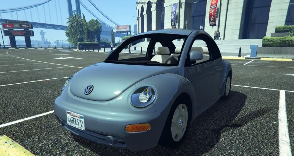Volkswagen Beetle 2003 [Add-On / Replace] для GTA 5