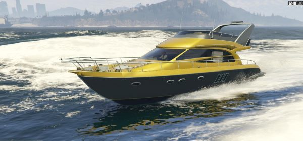 Small yacht deluxe [Add-On] для GTA 5