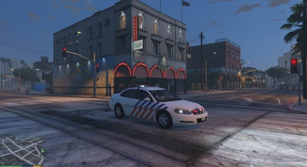2006 Chevrolet Impala LS Dutch Police для GTA 5