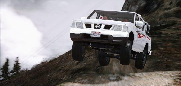 Nissan Ddsen Double Cab для GTA 5