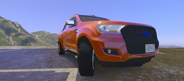 Ford Wildtrak 2016 [Replace] для GTA 5