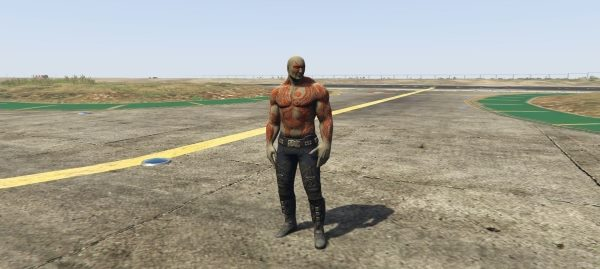 Drax + Weapon: Guardians of the Galaxy для GTA 5