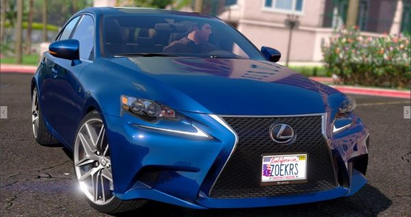 Lexus IS350 F-Sport 2014 [FINAL] для GTA 5