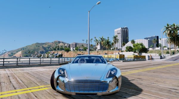 Aston Martin One-77 Edition [Add-On] для GTA 5