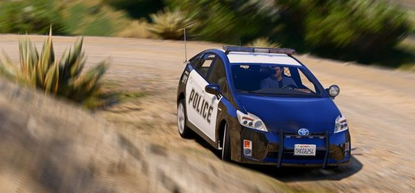 Toyota Prius Police [Replace | Wipers | Template] для GTA 5