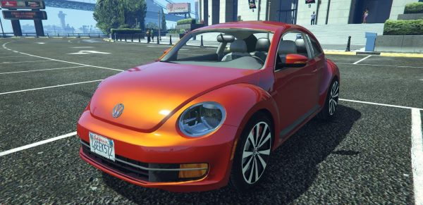 Volkswagen Beetle 2013 [Add-On / Replace] 1.1 для GTA 5