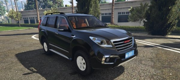 Great Wall Haval H9 [Replace] 1.1 для GTA 5