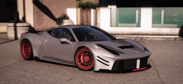 Prior Design Ferrari 458 Widebody [Add-On | Tuning | Liveries] 1.3 для GTA 5