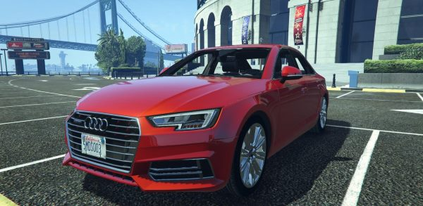 Audi A4 TFSI Quattro 2017 [Add-On / Replace] для GTA 5