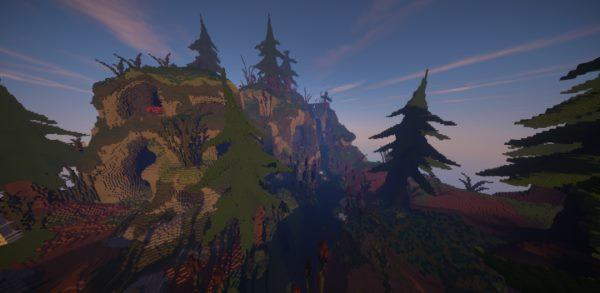 Slender Forest для Майнкрафт 1.11.2