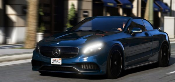 Mercedes S63 AMG Cabriolet [Add-On / Replace] 1.2 для GTA 5