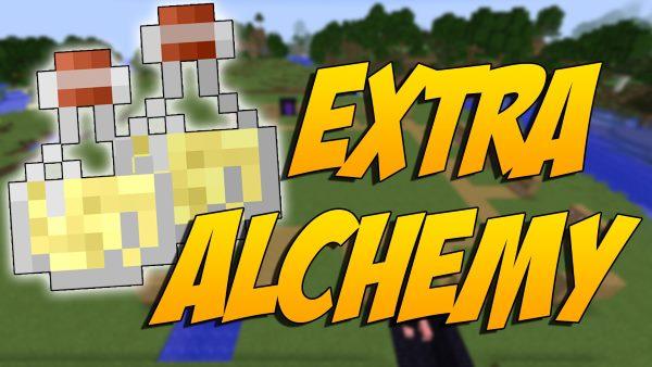 Extra Alchemy для Майнкрафт 1.11.2