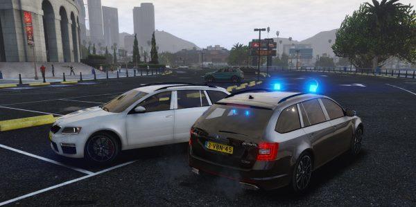 Škoda Octavia Estate Unmarked Police [ELS] 1.1 для GTA 5