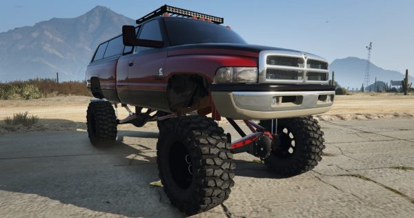 Dodge Mega Ram 3500 HD [Add-On / Replace] для GTA 5