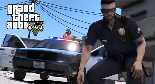 2006 Crown Victoria LAPD (SouthLAnd CVPI) [ELS] для GTA 5