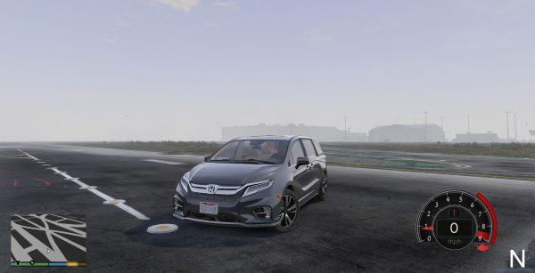 2018 Honda Odyssey Elite [Replace] 1.5 для GTA 5