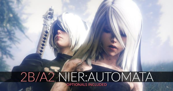 2B & A2 Nier:Automata [Add-On Ped / Replace] для GTA 5