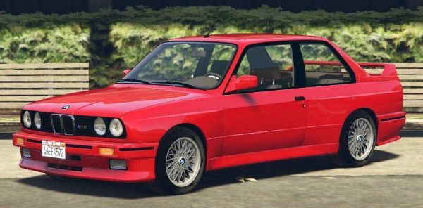 1991 BMW E30 M3 [Add-On / Replace | Livery] 1.5 для GTA 5