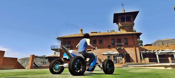 Booster Quad для GTA 5