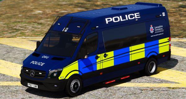2017 Lancashire Police Mercedes Sprinter [ELS] 1.1 для GTA 5