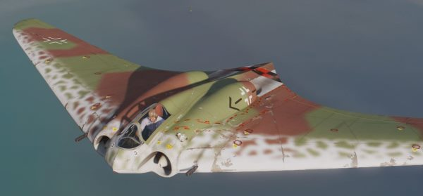 Horten Ho-229 (WWII Stealth Jet) [Add-On] для GTA 5