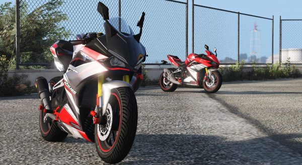 2017 Honda CBR250RR [Replace | Liveries | Digital Digals] 2.0 для GTA 5