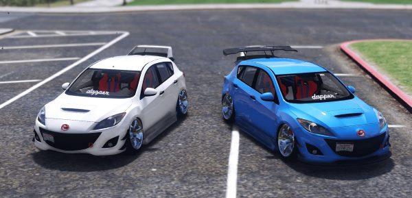 2010 Mazda 3 [Add-On] 1.1 для GTA 5