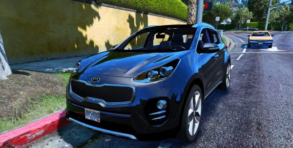 2017 Kia Sportage [Add-On / Replace] 2.5 для GTA 5