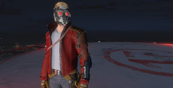 GOTG Star-lord [Add-On Ped] для GTA 5