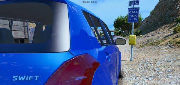Suzuki Swift [Add-On / Replace] 1.1 для GTA 5