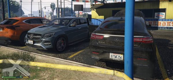 Mercedes-Benz AMG GLE [Add-On / Replace] 1.8 для GTA 5