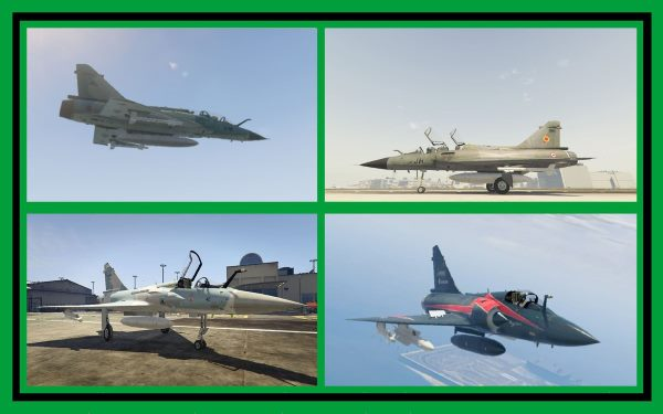 Mirage 2000-5 Pack [Add-On] для GTA 5