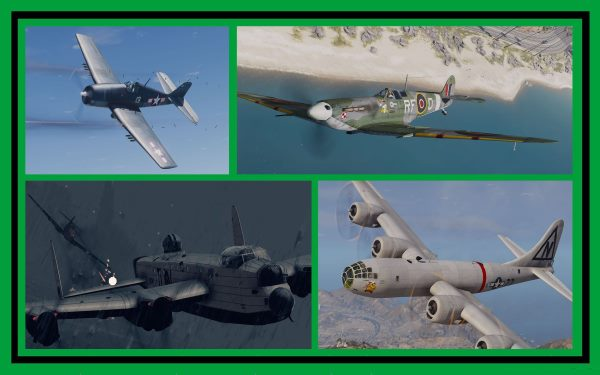 WWII Airplanes Pack [Add-On] для GTA 5