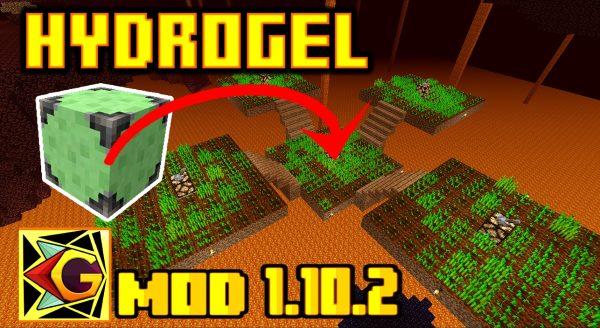 HydroGel для Майнкрафт 1.10.2