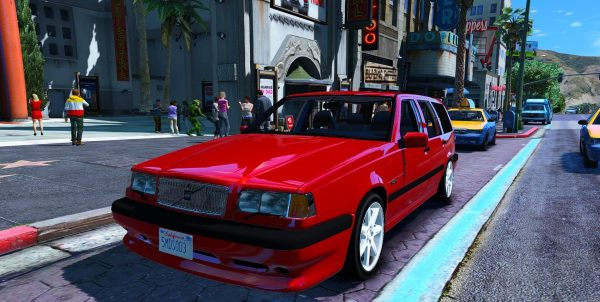 Volvo 850R [Add-On / Replace] 1.1 для GTA 5
